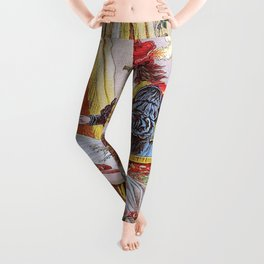 Carl Offterdinger - The Sleeping Beauty In The Woods - Digital Remastered Edition Leggings