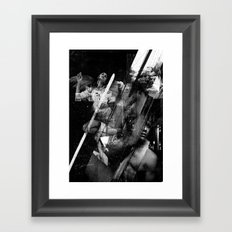 The Thief and the Moon Framed Art Print