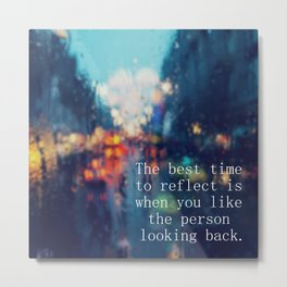 I Wrote This For You Quote Metal Print
