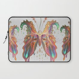 Monarch Butterfly of Spades Laptop Sleeve