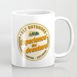Experience the Adventure - Get Outdoors Coffee Mug