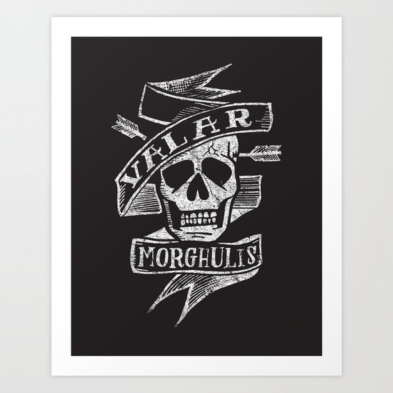 all men must die Art Print