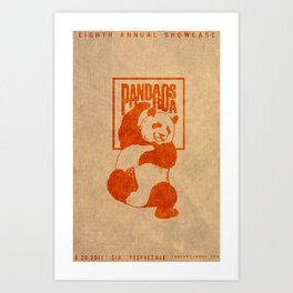 Pandarosa Summer Showcase 2011 Art Print