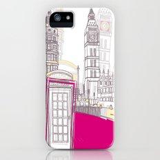 Lovely London II Slim Case iPhone (5, 5s)