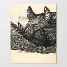 Dreamy Doodle Canvas Print