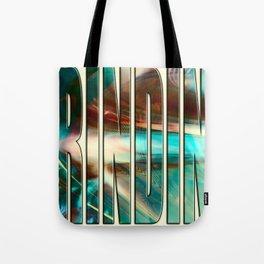 """Grinding"" Tote Bag"