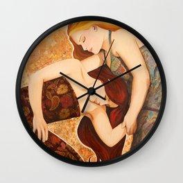 Let Your Dreams Run Free Wall Clock