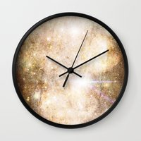 gundam Wall Clocks featuring Gundam Retro Space 1 - No text by Stefan Trudeau