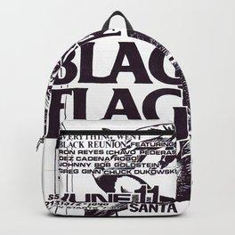 Black Flag Show Flyer Backpack