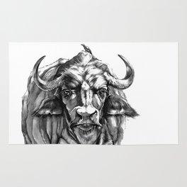 African Water Buffalo Rug