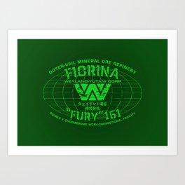 "Fiorina ""Fury"" 161 Art Print"