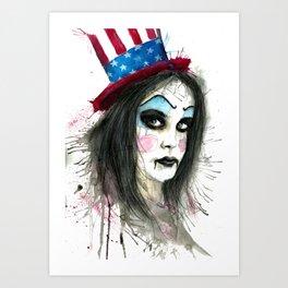 My Best Clown Suit Art Print