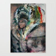 Warrior Portrait Canvas Print