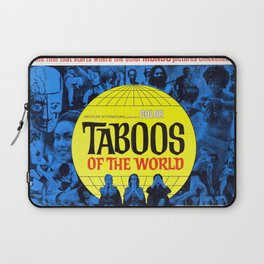 Taboos of the World Laptop Sleeve