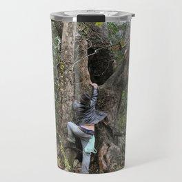 climbing forest Travel Mug