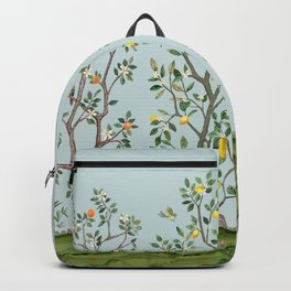 Chinoiserie Citrus Grove Mural Multicolor Backpack