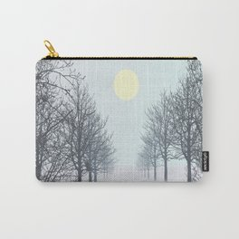 Owl on a tree Carry-All Pouch