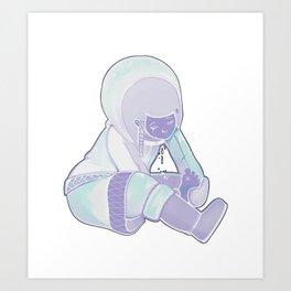 Eskimo Art Print