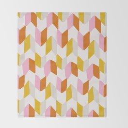 delilah, chevron pattern Throw Blanket