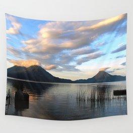 Lago Atitlan Sunrise Wall Tapestry