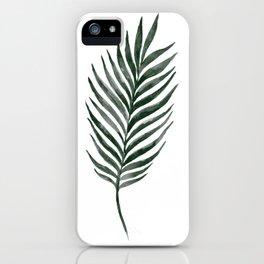 Palm Branch Art iPhone Case