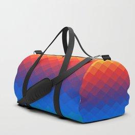 Polygonal Rainbow Duffle Bag