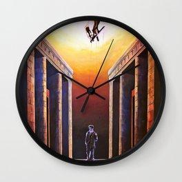 Allo specchio / The mirror Wall Clock