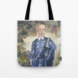 Stephen Miller, Blue Boy Tote Bag