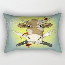 Dear Human Race... Rectangular Pillow