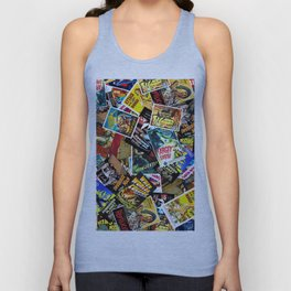 50s Movie Poster Collage #14 Unisex Tank Top