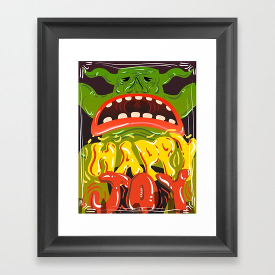 Happy Joy Framed Art Print