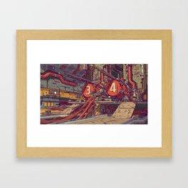 Power Station Framed Art Print