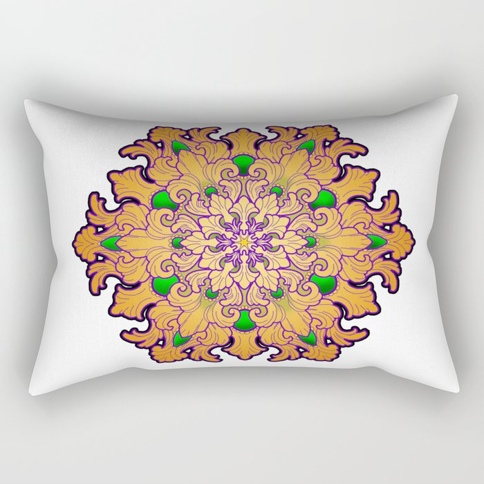 Filigree v2 Rectangular Pillow