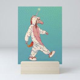 NOA THE UNICORN...? Mini Art Print