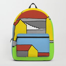 White Stairs Backpack