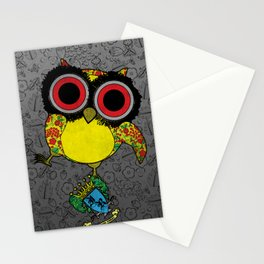 Printed Owl Stationery Cards