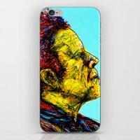 tom waits iPhone & iPod Skins featuring Tom Waits by Alec Goss