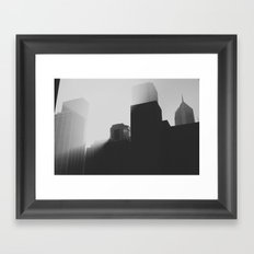 This was morning Framed Art Print