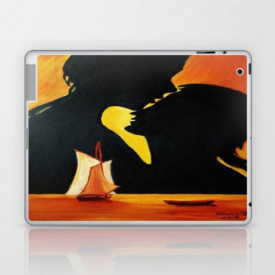 Romantic sunset Laptop & iPad Skin