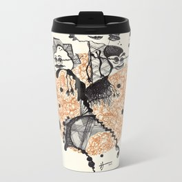 31. Trick-or-treaters Metal Travel Mug
