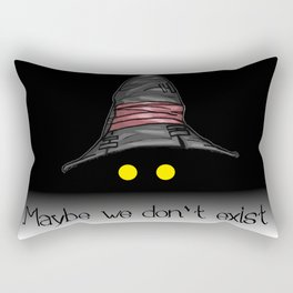 Maybe We Don't Exist - Vivi (Final Fantasy IX) Rectangular Pillow