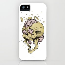 Brain Overload Explosion iPhone Case