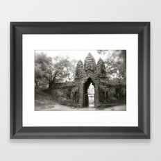 Ancient Cambodia Framed Art Print