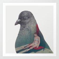 Silent Witness Art Print