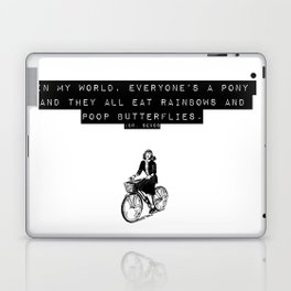 in my world Laptop & iPad Skin