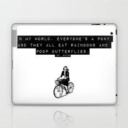 in my world Laptop & iPad Skin