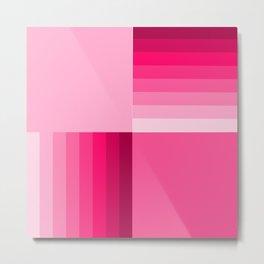 pink home decor pattern Metal Print