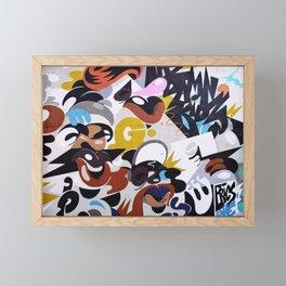 Street Art 1 Framed Mini Art Print