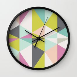 Harlequin Wall Clock