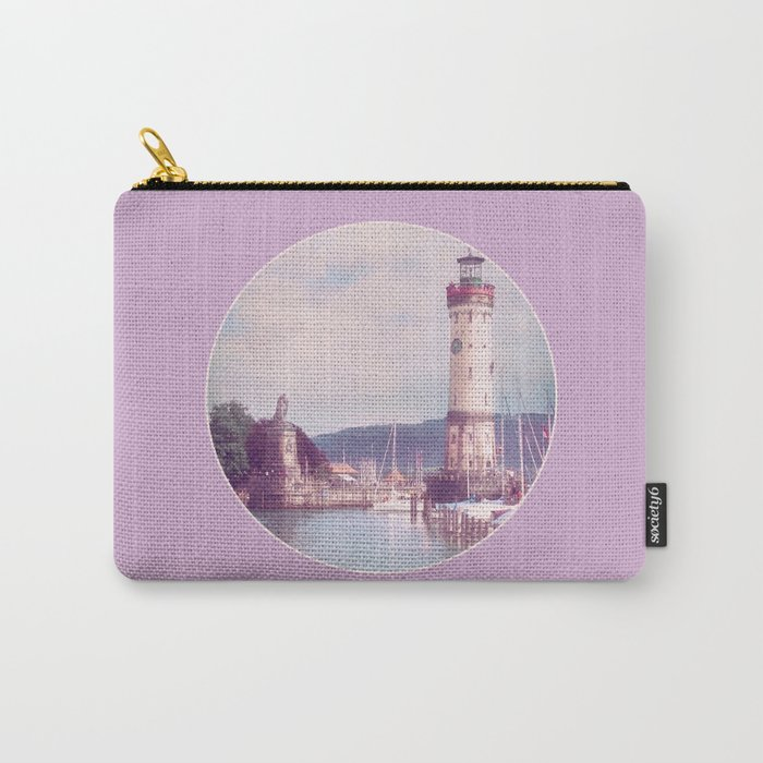 Lighthouse at Lindau, Lake of Constance Carry-All Pouch